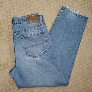 Calvin Klein Jeans 33x30 Frayed Relaxed Fit